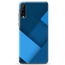 """Samsung Galaxy A70 TPU dėklas unikaliu dizainu 1.0 mm """"u-case airskin Blue design"""""""