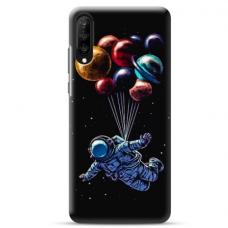 """Samsung Galaxy A70 TPU dėklas unikaliu dizainu 1.0 mm """"u-case Airskin Cosmo design"""""""