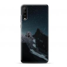 "Samsung Galaxy a70 TPU dėklas unikaliu dizainu 1.0 mm ""u-case Airskin Mountains 1 design"""
