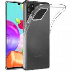 Samsung Galaxy A03s DĖKLAS MERCURY JELLY CLEAR PERMATOMAS