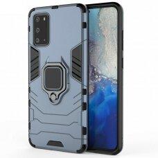 Akcija! Samsung galaxy a71 dėklas Panther PC+TPU tamsiai mėlynas