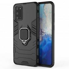 Samsung galaxy a51 dėklas Panther PC+TPU juodas