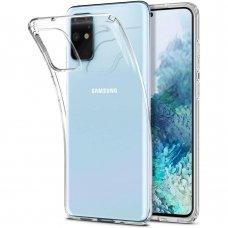 Samsung galaxy s20 ultra dėklas X-LEVEL Antislip silikonas permatomas