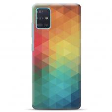 "Samsung Galaxy A41 TPU dėklas unikaliu dizainu 1.0 mm ""tavotel Pattern 3 design"""