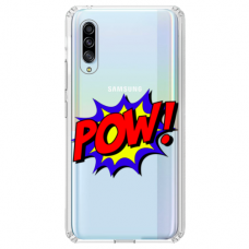 "Samsung Galaxy A7 2018 TPU DĖKLAS UNIKALIU DIZAINU 1.0 MM 1.0 mm ""u-case airskin POW design"""