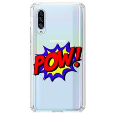 "Samsung Galaxy A70 TPU DĖKLAS UNIKALIU DIZAINU 1.0 MM 1.0 mm ""u-case airskin POW design"""