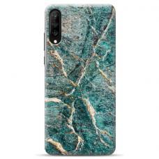 "Huawei P30 TPU dėklas unikaliu dizainu 1.0 mm ""u-case airskin Marble 1 design"""