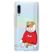 "Samsung Galaxy A50 TPU dėklas unikaliu dizainu 1.0 mm ""u-case airskin Doggo 5 design"""