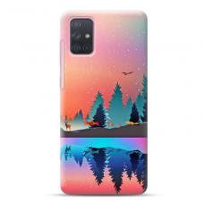 """Samsung Galaxy A71 TPU dėklas unikaliu dizainu 1.0 mm """"u-case Airskin Nature 5 design"""""""