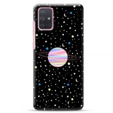 """Samsung Galaxy A72 TPU dėklas unikaliu dizainu 1.0 mm """"u-case Airskin Planet design"""""""