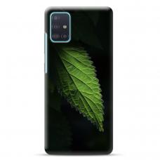 """Samsung Galaxy A71 TPU dėklas unikaliu dizainu 1.0 mm """"u-case Airskin Nature 1 design"""""""