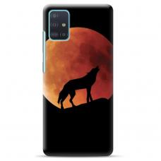"""Samsung Galaxy A71 TPU dėklas unikaliu dizainu 1.0 mm """"u-case Airskin Nature 3 design"""""""