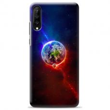 """Samsung Galaxy A70 TPU dėklas unikaliu dizainu 1.0 mm """"u-case Airskin Nature 4 design"""""""