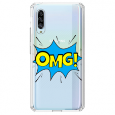 "Huawei P20 TPU dėklas unikaliu dizainu 1.0 mm ""u-case Airskin OMG design"""