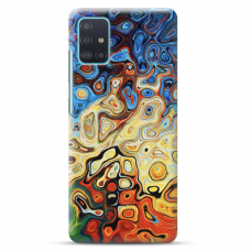 """Samsung Galaxy A71 TPU dėklas unikaliu dizainu 1.0 mm """"u-case Airskin Pattern 1 design"""""""
