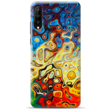 """Samsung Galaxy A70 TPU dėklas unikaliu dizainu 1.0 mm """"u-case Airskin Pattern 1 design"""""""