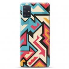 """Samsung Galaxy A71 TPU dėklas unikaliu dizainu 1.0 mm """"u-case Airskin Pattern 7 design"""""""