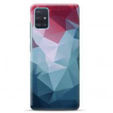 """Samsung Galaxy A71 TPU dėklas unikaliu dizainu 1.0 mm """"u-case Airskin Pattern 8 design"""""""