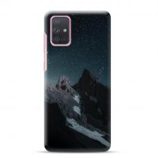 "Samsung Galaxy A71 TPU dėklas unikaliu dizainu 1.0 mm ""u-case Airskin Mountains 1 design"""