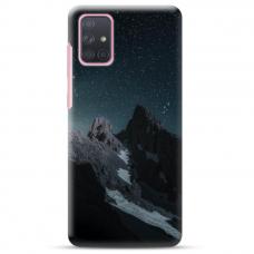 "Samsung Galaxy A72 TPU dėklas unikaliu dizainu 1.0 mm ""u-case Airskin Mountains 1 design"""
