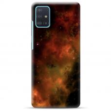 """Samsung Galaxy A71 TPU dėklas unikaliu dizainu 1.0 mm """"u-case Airskin Space 1 design"""""""