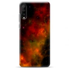 """Samsung Galaxy A70 TPU dėklas unikaliu dizainu 1.0 mm """"u-case Airskin Space 1 design"""""""