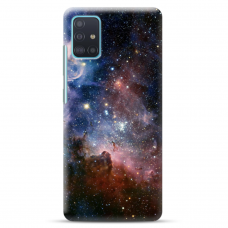 """Samsung Galaxy A41 TPU dėklas unikaliu dizainu 1.0 mm """"u-case Airskin Space 2 design"""""""