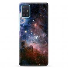 """Samsung Galaxy A71 TPU dėklas unikaliu dizainu 1.0 mm """"u-case Airskin Space 2 design"""""""
