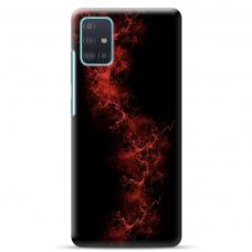 """Samsung Galaxy A71 TPU dėklas unikaliu dizainu 1.0 mm """"u-case Airskin Space 3 design"""""""