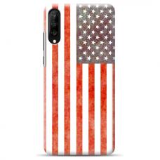 """Samsung Galaxy A70 TPU dėklas unikaliu dizainu 1.0 mm """"u-case Airskin USA design"""""""
