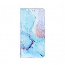Samsung Galaxy a72 atverčiamas dėklas smart trendy marble 1