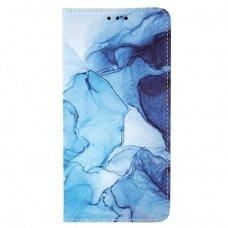 Samsung Galaxy a02s atverčiamas dėklas smart trendy marble 2