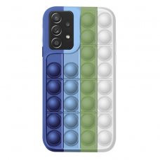 Samsung Galaxy A72 silikoninis dėklas POP IT Design 2