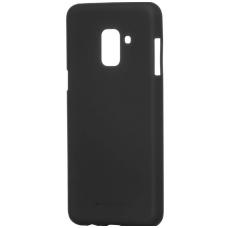 Samsung galaxy A8 2018 dėklas goospery soft jelly case silikonas juodas