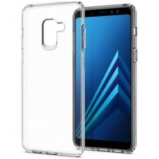 Samsung galaxy a8 2018 DĖKLAS HIGH CLEAR 1,0MM SILIKONAS SKAIDRUS