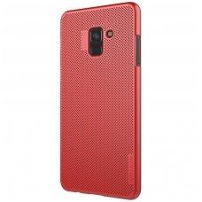Samsung galaxy A8 2018 dėklas Nillkin Air PC plastikas raudonas