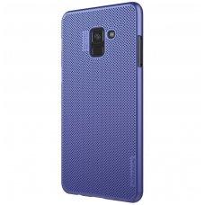 Samsung galaxy A8 2018 dėklas Nillkin Air PC plastikas mėlynas