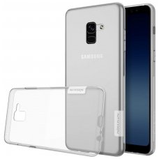 Samsung galaxy A8 2018 dėklas Nillkin Nature permatomas 0,6 mm TPU