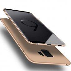 Akcija! Samsung galaxy A8 2018 dėklas X-LEVEL GUARDIAN silikonas auksinis