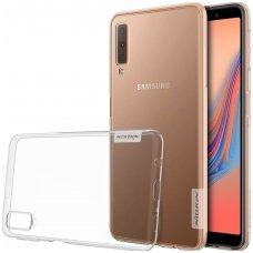 Samsung galaxy A7 2018 dėklas nillkin Nature TPU skaidrus 0,6 mm
