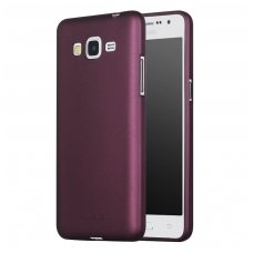 SAMSUNG GALAXY grand prime DĖKLAS X-LEVEL GUARDIAN SILIKONINIS 0,6MM BORDO