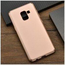 Samsung Galaxy J6 2018 dėklas x-level guardian silkonas aukso spalvos