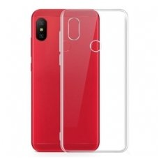 xiaomi redmi note 6 pro dėklas high clear 1,0mm silikonas skaidrus