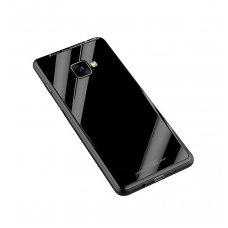 Samsung Galaxy J4 plus 2018 Glass Case Juodas
