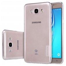 Samsung galaxy J5 2016 dėklas Nillkin Nature permatomas 0,6 mm silikonas
