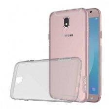 Samsung galaxy J5 2017 dėklas Nillkin Nature pilkas permatomas 0,6 mm TPU