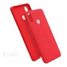 xiaomi redmi note 6 pro dėklas silicone cover silikonas raudonas