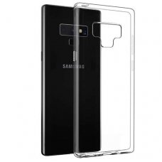 Samsung galaxy Note 9 DĖKLAS HIGH CLEAR 1,0MM SILIKONAS SKAIDRUS