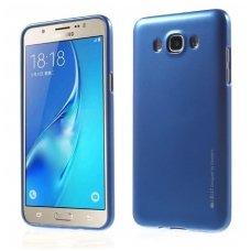 Samsung galaxy J7 2016 dėklas MERCURY JELLY SOFT silikoninis mėlynas