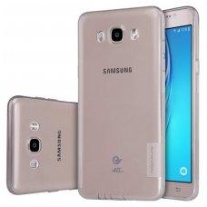 Samsung galaxy J7 2016 dėklas Nillkin Nature pilkas permatomas 0,6 mm TPU